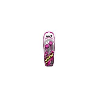 Maxell® 190526 Jelleez Earbuds, Pink