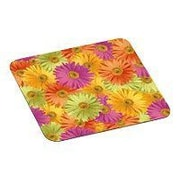 "3M™ 9"" x 8"" Nonskid Base Foam Mouse Pad, Daisy"