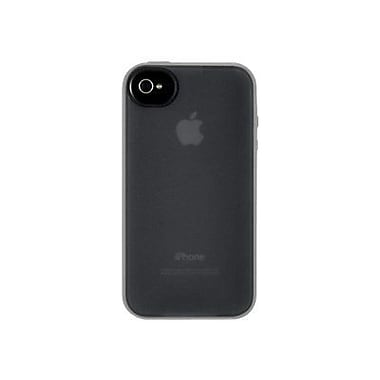 Belkin® Essential Grip Candy Case For Apple iPhone 4/4S, Blacktop/Overcast