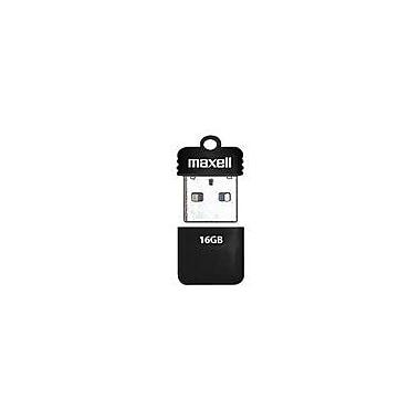 Maxell® Onyx 503053 USB 2.0 Mini Flash Drive, 16GB