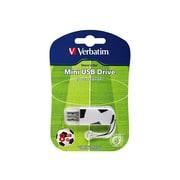 Verbatim® Store 'n' Go 8GB Mini USB 2.0 Flash Drive (Soccer)