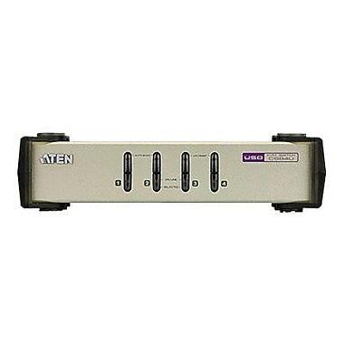Aten® Technology CS84U PS/2-USB KVM Switch, 4-Port