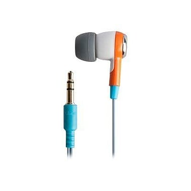 ifrogz® Zagg® Earpollution Ozone Personal Earbuds, Orange/White