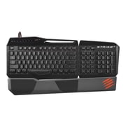 Mad Catz® S.T.R.I.K.E. 3 Gaming Keyboard, Black