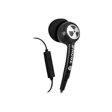 ifrogz® EPD33 EarPollution Plugz Earbuds With Microphone, Black