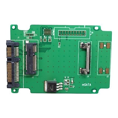 Aleratec™ 350118 50mm mSATA SSD to SATA Adapter