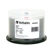 Verbatim® 4.7GB 16X VX DVD-R, Spindle, 50/Pack