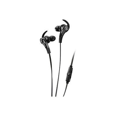 Audio-Technica® SonicFuel In-Ear Headphone With In-Line Mic and Control, Black