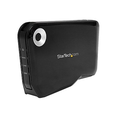 Startech.Com® S2510U2WF 2 1/2in. External SATA Hard Drive HDD Enclosure With USB and Wi-Fi AP