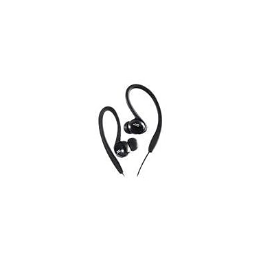 JVC HAEBX5 Sports Clip Headphone, Black