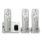 Panasonic KX-TGE263S Single Line Cordless Office Telephone, Silver
