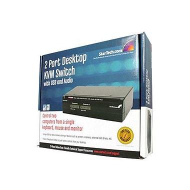 StarTech SV231USBA Desktop KVM Switch, 2 Ports