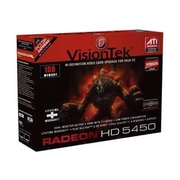 Visiontek® 900358 Radeon HD 5450 GPU Graphic Card With ATI Chipset, 1 GB DDR3 SDRAM