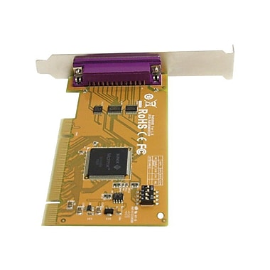 StarTech PCI1PM 1 Port PCI Parallel Adapter Card With Re-Mappable Address