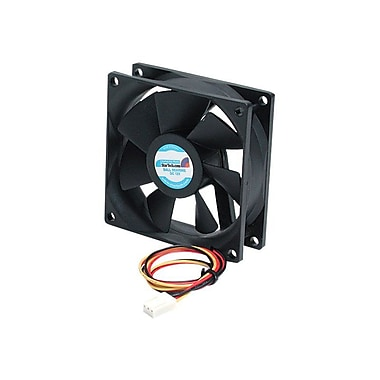 StarTech Quiet 80 mm Computer Case Fan With Connector, 2000 RPM