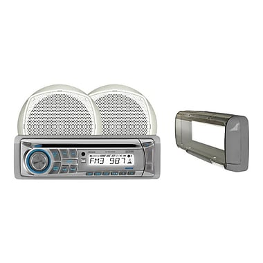 Dual® Marine MCP200S In-Dash Single-Din AM/FM CD Player