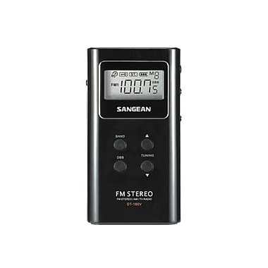 Sangean DT-180 FM/AM Pocket Receiver