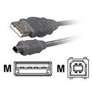 Belkin® 10' Pro Series 4-Pin A/4-Pin Mini B USB Cable, Gray