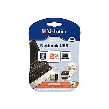 Verbatim® Store 'n' stay 97462 USB 2.0 Flash Drive, 8GB