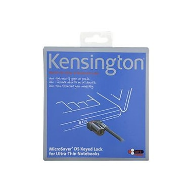 Kensington® MicroSaver® K64590 DS Keyed Ultra Thin Notebook Lock