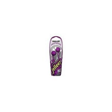 Maxell® 190525 Jelleez Earbuds, Purple