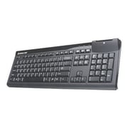 Iogear® GKBSR201 Keyboard With Built-in Common Access Card Reader, Black