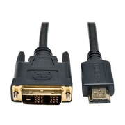 Tripp Lite® P566 Series 30' HDMI to DVI Gold Digital Video Cable, Black