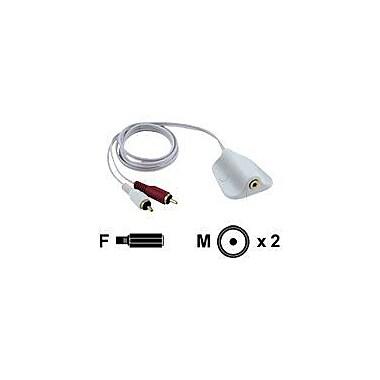 Pyle PLMRIPWG iPod/MP3 Waterproof 3.5 mm Stereo to RCA Adapter