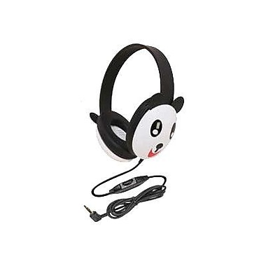Califone® Ergoguys 2810 Kids Stereo/PC Headphone, Panda Design