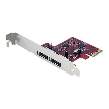 STARTECH.COM® 2 Port eSATA Controller Card (PEXESAT32)