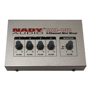 Nady® MM-141 4 Channel Audio Mini Mixer, 4 Ports