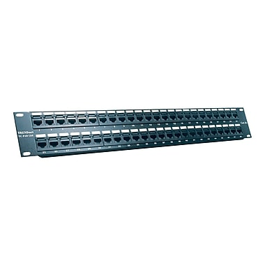TRENDnet® TC-P48C5E 48-Port Cat5/5e Rack Mount Unshielded Patch Panel