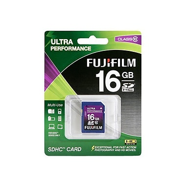 Fujifilm 16GB SDHC (Secure Digital High-Capacity) Class 10 Memory Card