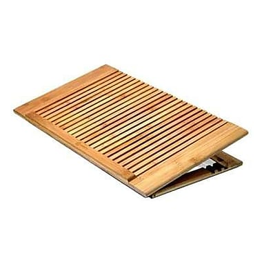 macally™ Adjustable Cooling Stand For 17in. Notebooks, Wood