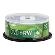 Imation 4.70GB 4X DVD-RW, Spindle, 25/Pack