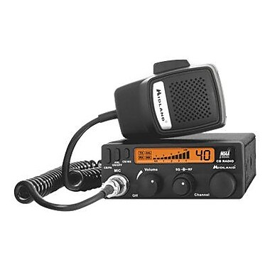 Midland 1001LWX 2-Way CB Radio With Weather Scan, 4 W