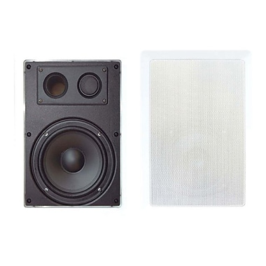 Pyleaudio® PDIW67 2-Way In Wall Enclosed Speaker System With Directional Tweeter