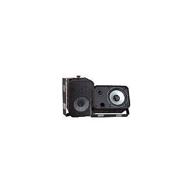 Pyleaudio® PDWR50 Indoor/Outdoor Waterproof Speaker, Black