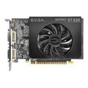 EVGA® GeForce GT 620 1GB PCI-Express 2.0 Plug-In Graphic Card
