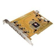 Siig® JU-P50212-S5 5-Port Hi-Speed 2.0 USB PCI Adapter