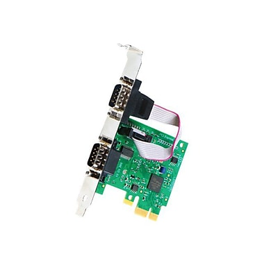 Intashield IX-200 2 Ports PCI Express RS232 Standard Serial Adapter Card