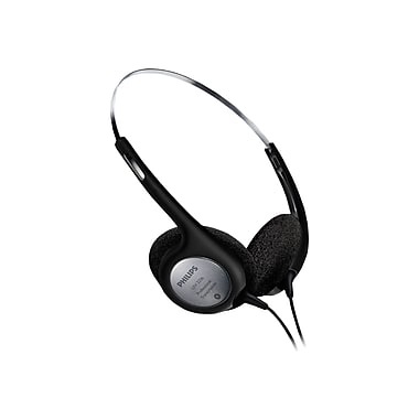Philips LFH2236/00 Stereo Headphones With Outstanding Audio Quality, Black
