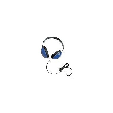 Califone Ergoguys 2800-BL Children's Stereo Headphone, Blue