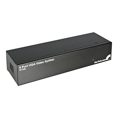 StarTech ST128L VGA Video Splitter, Black