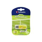 Verbatim® Store 'n' Go 8GB Mini USB 2.0 Flash Drive (Tennis)