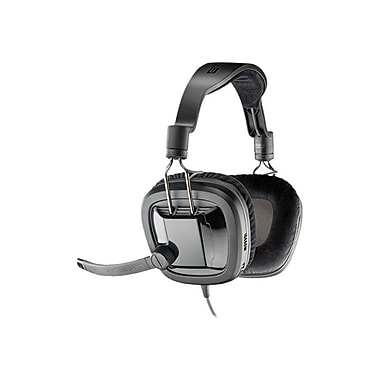 Plantronics GameCom 380 86050-01 Wired Gaming Headset, Black