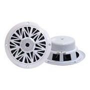 Pyle® PLMR62 200 W 6 1/2 2 Way Marine Speaker, White