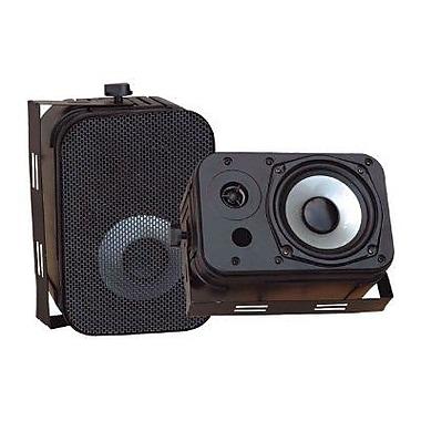Pyleaudio® PDWR40 Indoor/Outdoor Waterproof Speaker, Black
