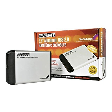 Startech.com® SAT2510U2 2.5in. USB 2.0 External Hard Drive Enclosure