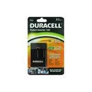 Duracell® DRINVP100 Pocket Inverter, 12 VDC Input, 125 VAC Output, 2 Outlets
